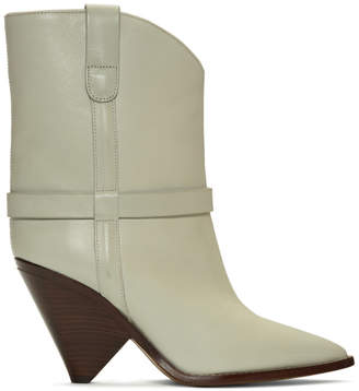 Isabel Marant Off-White Lamsy Boots