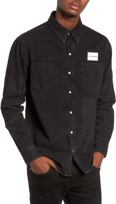 Calvin Klein Jeans Patched Utility Shirt