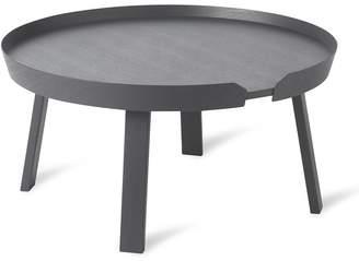 Muuto Around large coffee table - Anthracite