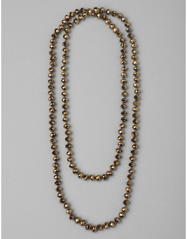 Catherines Light-Catching Bead Necklace