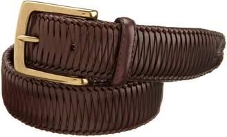 Tommy Bahama Men's Largo Woven Laid Belt