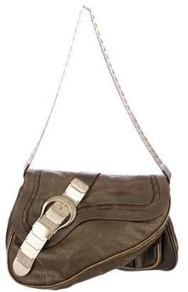 Christian Dior Gaucho Saddle Bag
