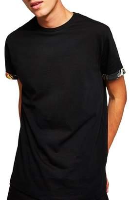 Topman Baroque Trim Roller T-Shirt