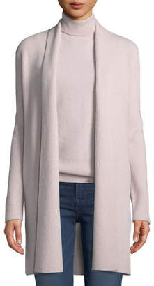 Neiman Marcus Cashmere Full-Needle Duster Cardigan