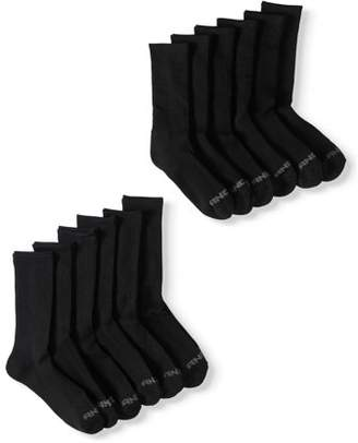 AND 1 And1 AND1 Men's Crew Socks, 12 Pack, 10-13, Black