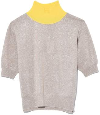 Rachel Comey Cropped Tee in Champagne