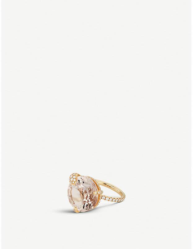 BUCHERER JEWELLERY 18ct rose-gold diamond ring