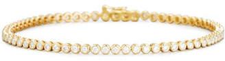 Memoire Diamond Bezel Line Bracelet in 18K Yellow Gold