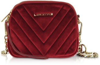 Velvet Couture Lancaster Paris Quilted Mini Camera/belt Bag