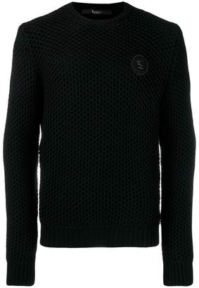 Billionaire knit logo jumper
