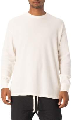 Zanerobe Rugger Waffle Knit Long Sleeve T-Shirt