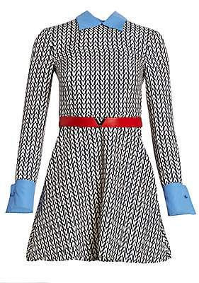 Valentino Women's Optical Long Sleeve Top