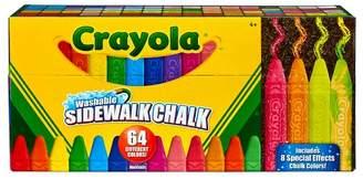 Crayola Sidewalk Chalk Washable 64ct