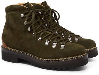 Ralph Lauren Purple Label Fidel Suede Boots
