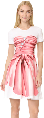 Moschino Short Sleeve Dress $950 thestylecure.com
