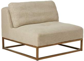 OKA Botero Armless Sofa Chair