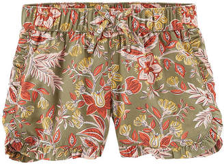 Carter's Ruffle Edge Pull-On Shorts Preschool Girls