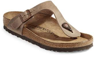 Birkenstock Gizeh Nubuck Thong Sandals