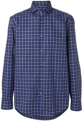 HUGO BOSS checked button shirt