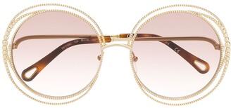 Chloé Eyewear Carlina Chain sunglasses