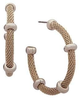 Ralph Lauren Mesh Hoop Earrings
