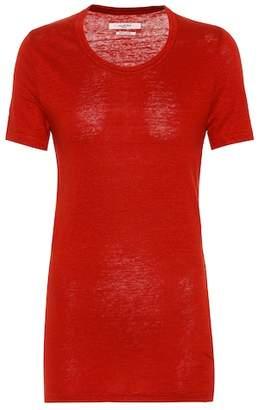 Etoile Isabel Marant Isabel Marant, Étoile Kiliann linen T-shirt