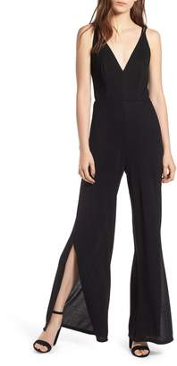Rowa Row A Strappy Wide Leg Jumpsuit