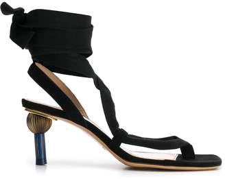Jacquemus wraparound strap sandals