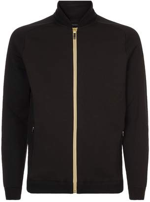 BOSS GREEN Knit Hybrid Cardigan Jacket