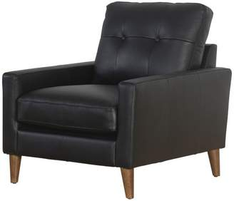 Abbyson Living Chet Top Gran Leather Armchair
