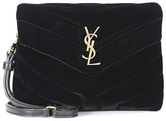 922fb5d9c1 Saint Laurent Velvet Loulou Handbags - ShopStyle