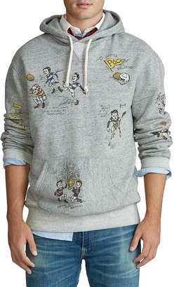 Polo Ralph Lauren Graphic Cotton Fleece Hoodie
