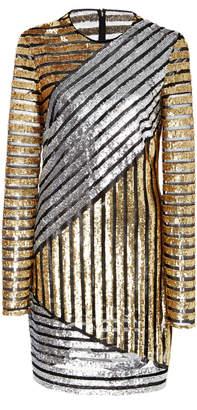 Michael Kors Crewneck Long Sleeve Dress