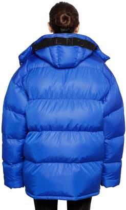 Givenchy Oversized Hooded Nylon Puffer Jacket