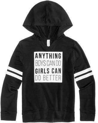 Macy's Ideology Graphic-Print Hoodie, Big Girls, Created for