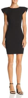 Aqua Ruffled V-Back Body-Con Dress - 100% Exclusive