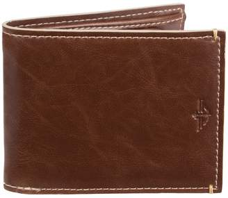 Dockers Men's Slimfold Wallet with Zippered Coin Pocket