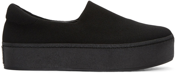 Opening Ceremony Black Cici Slip on Sneakers