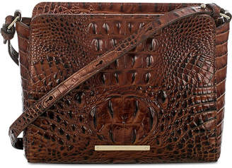 Brahmin Carrie Melbourne Embossed Leather Crossbody