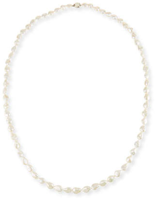 Stephen Dweck Long Baroque Pearl Necklace, 52""