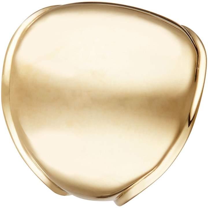 Diamond & Co Courbe lisse - Ringe - goldfarben