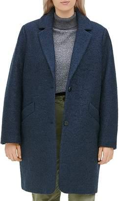 Andrew Marc Plus Paige Bouclé Coat