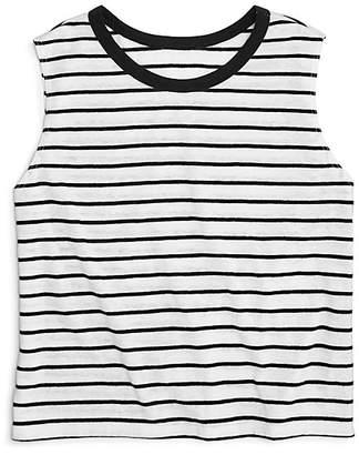 Aqua Girls' Striped Tank, Big Kid - 100% Exclusive