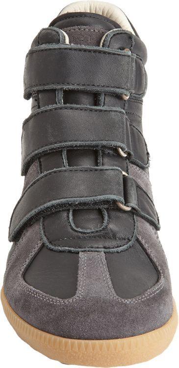 Maison Margiela Triple Strap High Top-Black