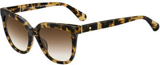 Kate Spade Kahli Two-Tone Acetate Sunglasses