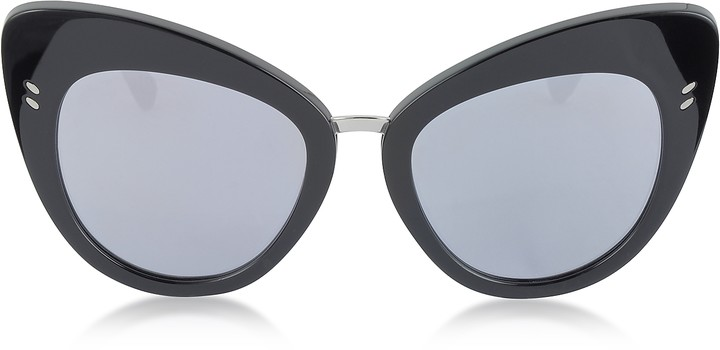 Stella McCartney SC0037S Acetate Cat Eye Women's Sunglasses