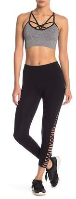 Betsey Johnson Strappy Side Stretch Leggings