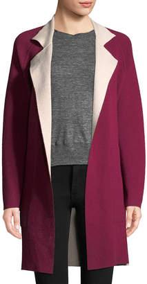 Akris Solid Silk Coat