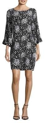 MICHAEL Michael Kors Floral Printed Sheath Dress