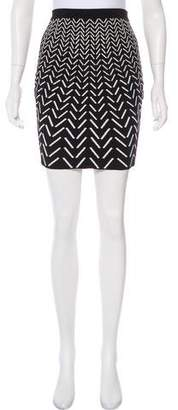 Ohne Titel Patterned Mini Skirt